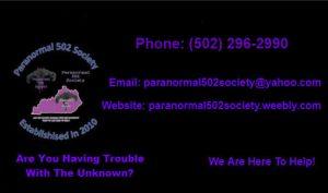 Paranormal 502 Society